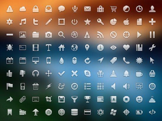 Free 16px Retina Icons by Visual Idiot