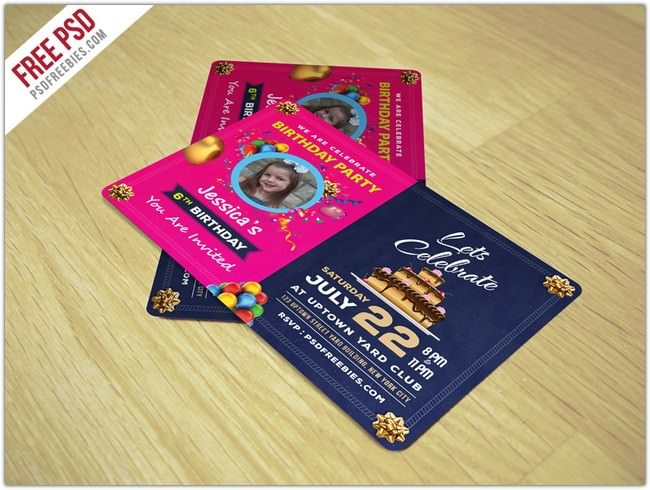 34 Lovely Birthday Card Psd Templates 2018 Templatefor