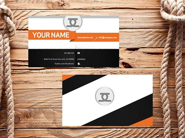 Free Business Card PSD – Front and Back