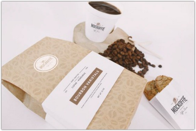 Free Coffee Bag & Cup Mockup Psd Download