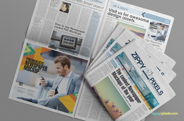 free-customizable-newspaper-advertising-mockup