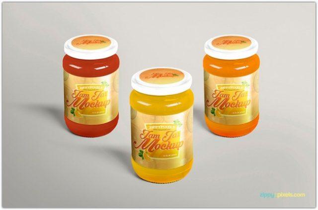free-delightful-jam-jar-mockup