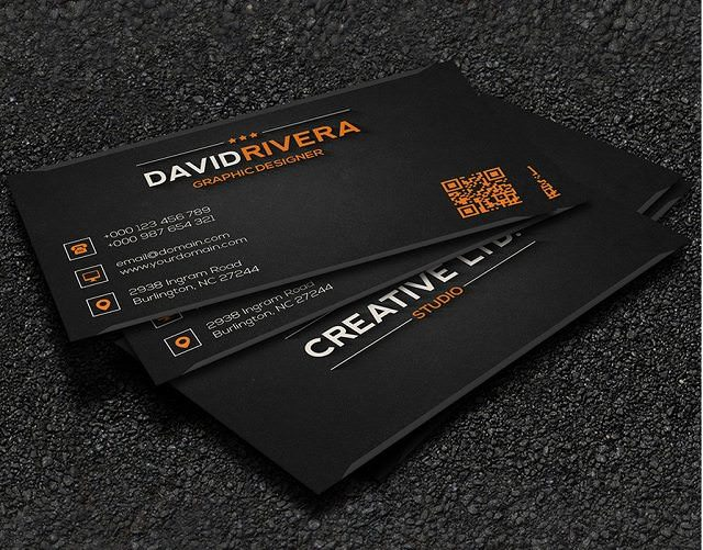 Free – Business Card Template