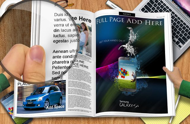 Free GemGfx Newspaper Spread Mockup