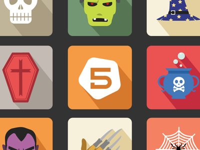 Free Halloween Vector Icon Set