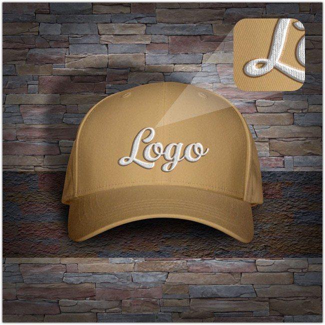 Free Men's P-Cap Hat Mockup PSD