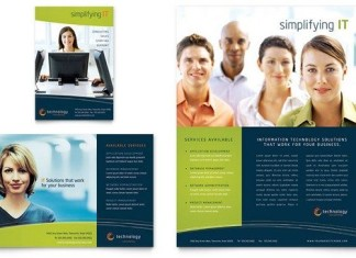 Publisher Flyer Template
