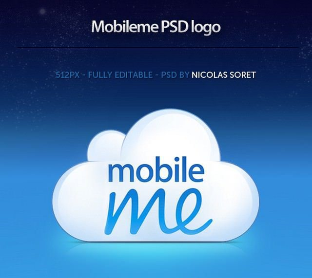 Free-Mobileme-logo-PSD