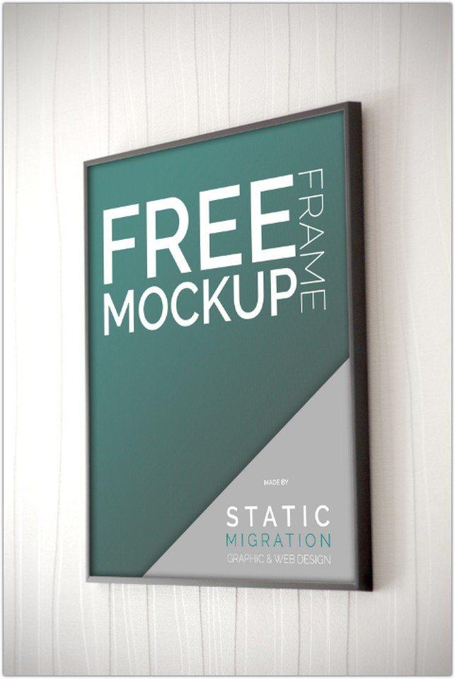 Free Mock-Ups PSD Frame