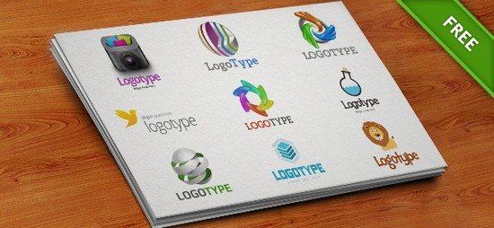 Free PSD Logo Design Templates Pack 6