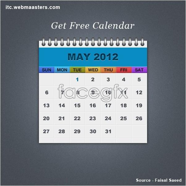 Free Psd Calendar