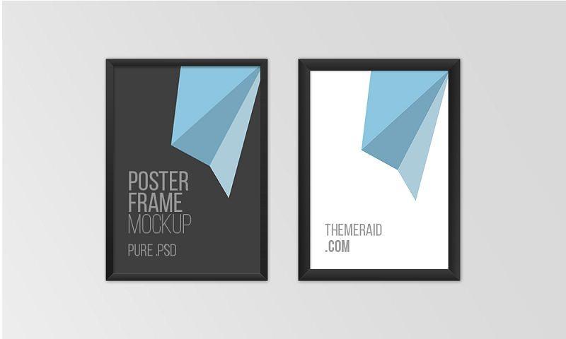 Free Psd Poster Frame Mockup