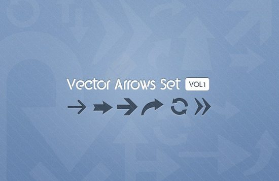 Free Vector Arrows Set - Vol 1