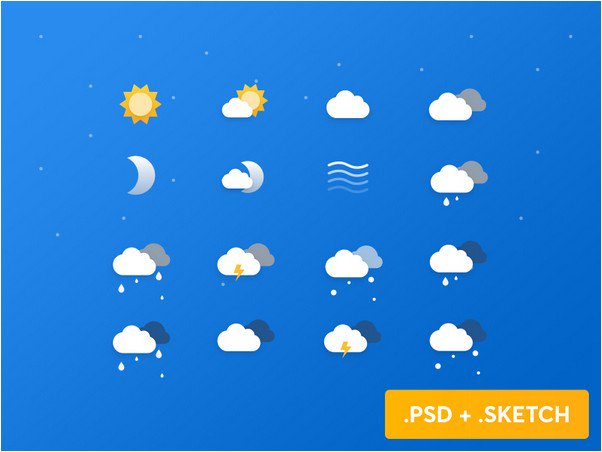 Free Weather Icons # 2
