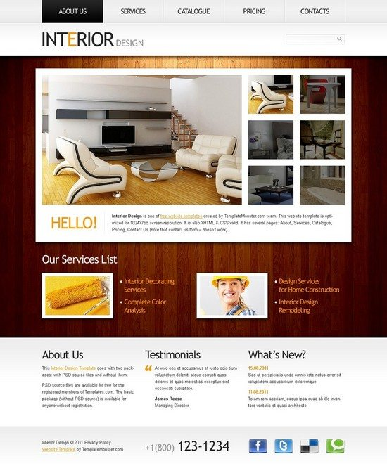60 Best Interior Design Furniture Website Templates 2020 Templatefor,Back Neck Simple Embroidery Designs For Blouse