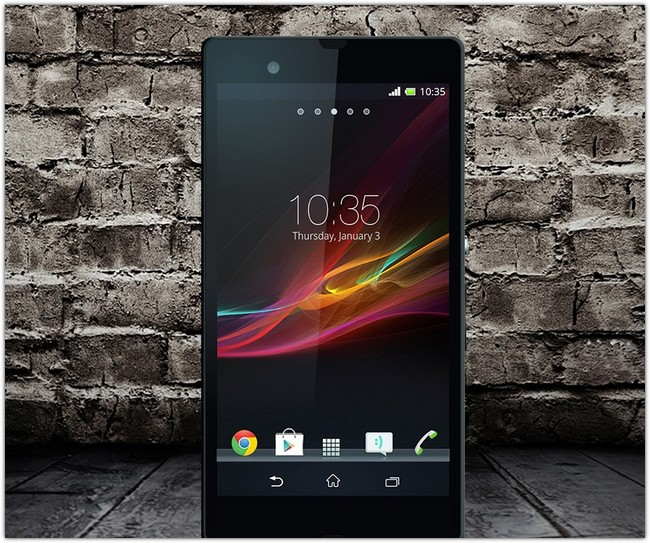 Free Xperia-Z PSD Mock-up