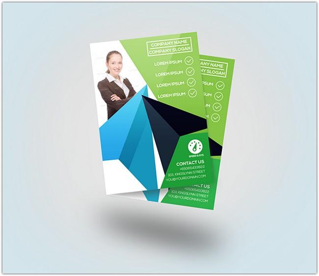 Free flyer mockups