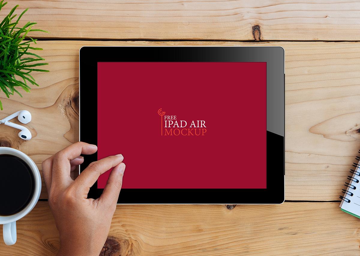 Free iPad Air Mockup