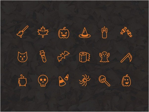 Freebie - Halloween Icon Set