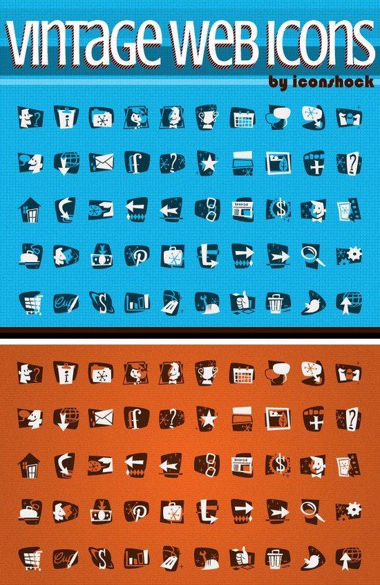 Freebie Vintage icons