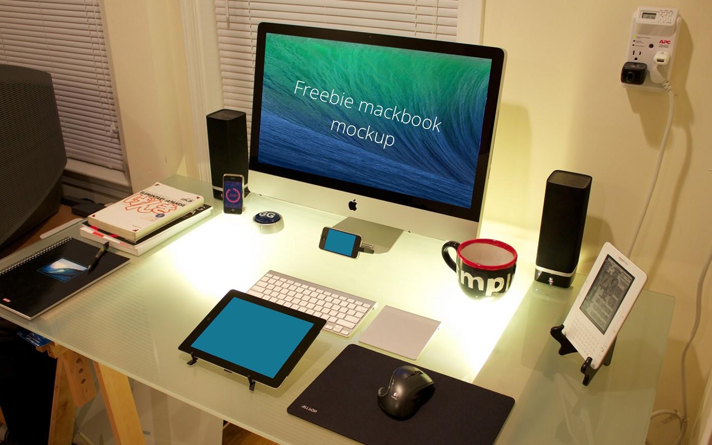 Freebie mackbook mockup