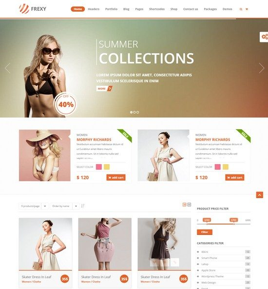 Frexy - Responsive Multi-purpose HTML5 Template