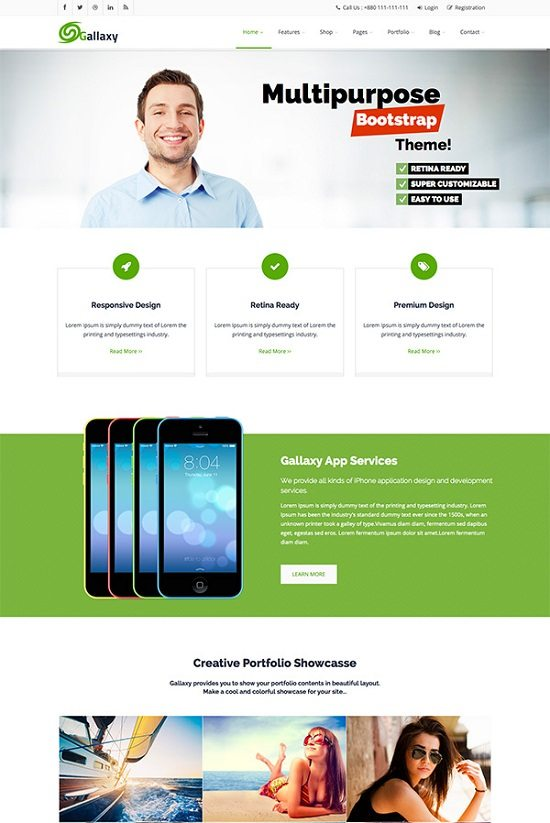GALLAXY – Responsive Multipurpose Theme
