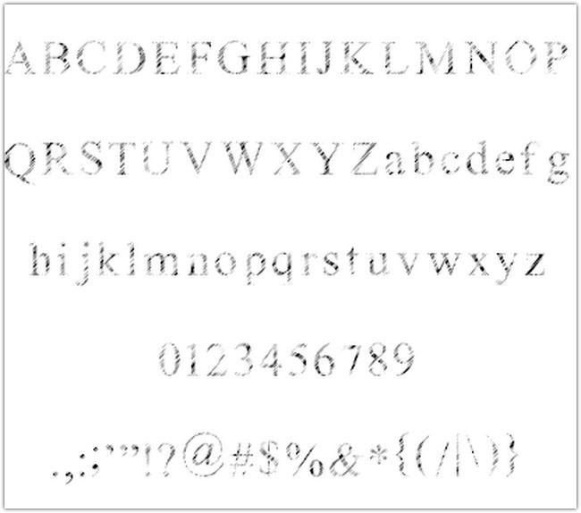 Ganz Egal font by Nihilschiz