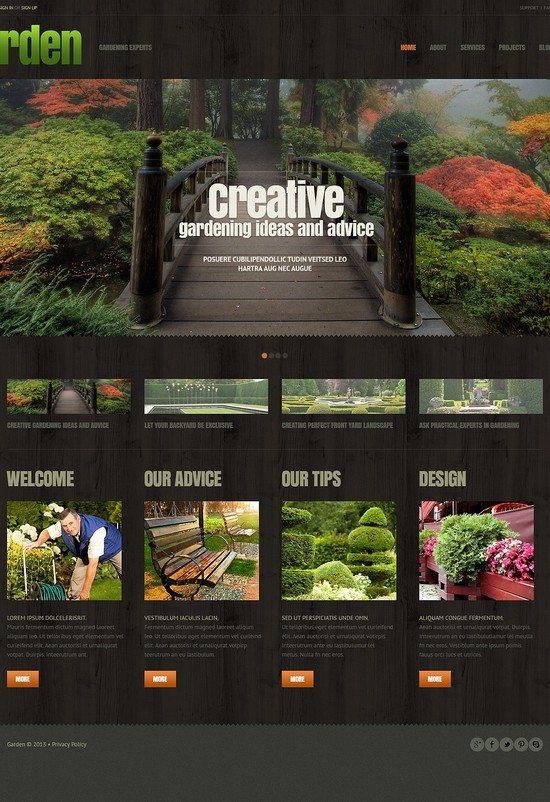 Garden Responsive WordPress Theme