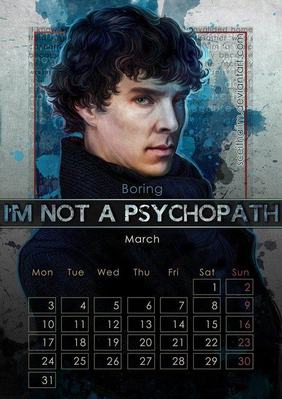 Geek Calendar 2014
