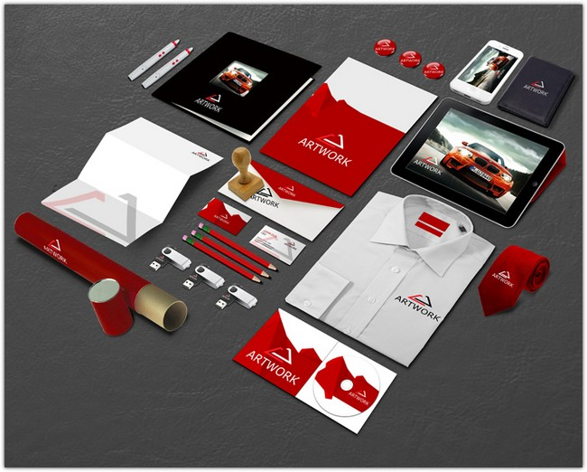 GemGfx Corporate Identity Mockup Part 6