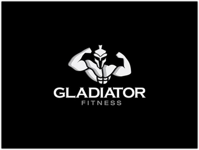 Gladiator Fitness Logo Design