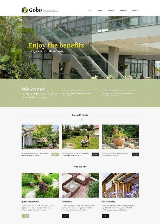 Gobo Landscape Design Responsive Website Template