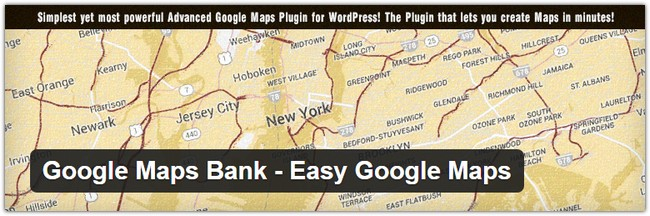 Google Maps Bank - Easy Google Maps