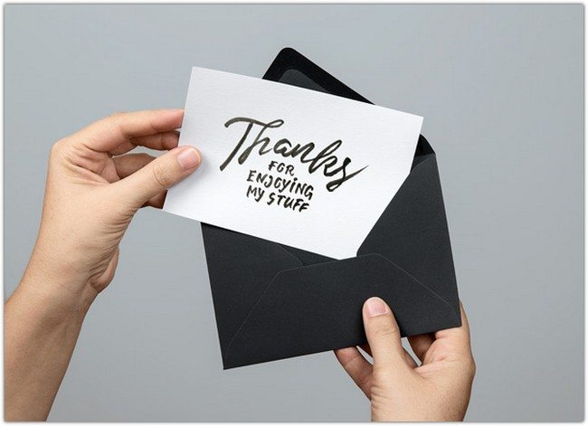 Greeting Card PSD MockU