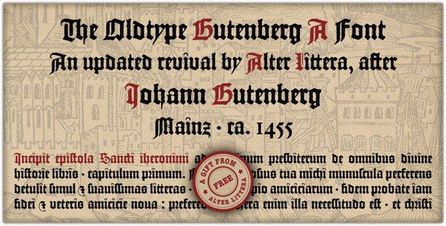 Gutenberg A