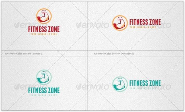 Gym & Fitness Logo