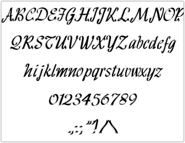 hff-ribbon-font