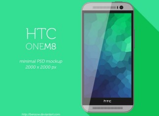 HTC Mobile Mockup