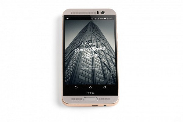 HTC One M9+ PSD Mockup 04