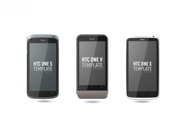 HTC One Series Mockup