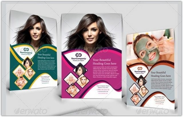 Hair & Beauty Salon Business Flyer Vol.1