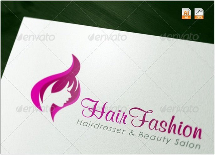 Hair Fashion - Spa & Salon Logo