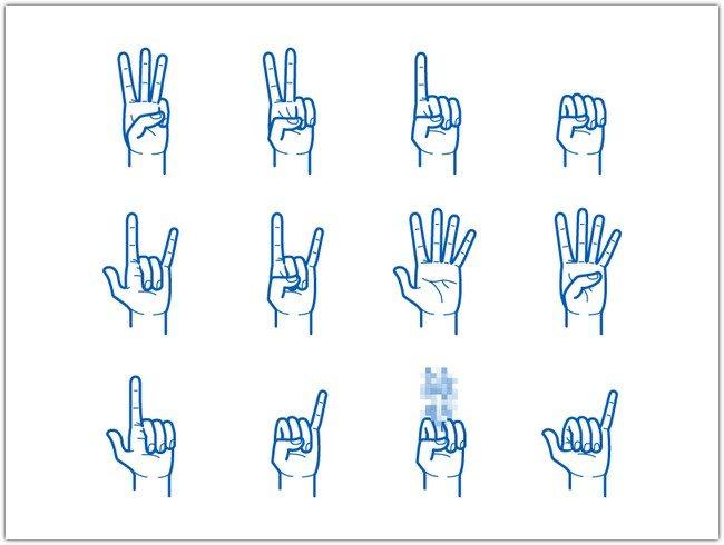 Hand Gesture Pack