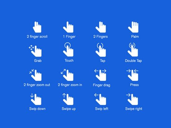 Hand Gestures PSD