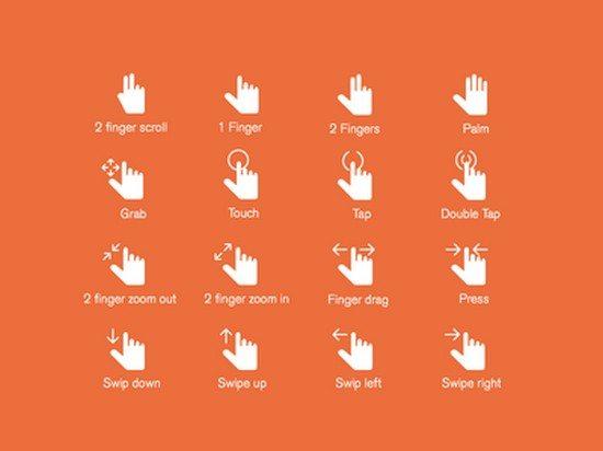 Hand Gestures Update