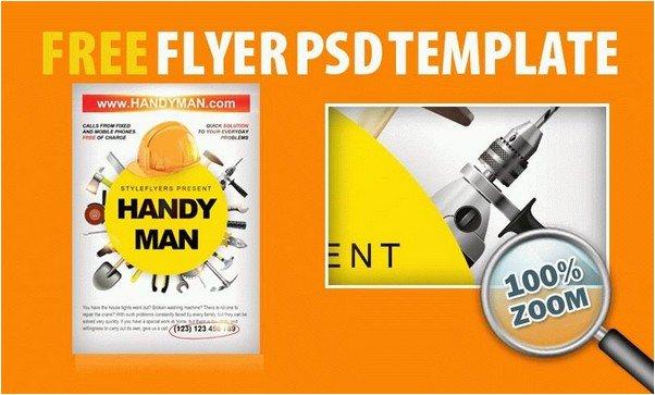 16+ Best Handyman Flyer Templates & Designs 2018 - Templatefor