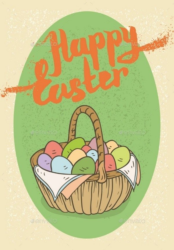 Happy Easter Postcard # 1