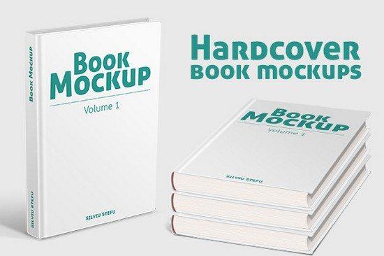 Hardcover-Book-Mockups