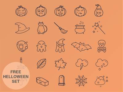 Helloween Icon Set